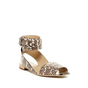 Saint & Libertine Toledo Snakeskin Sandal Size 9